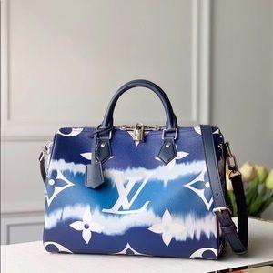 Louis Vuitton escale speedy 30 blue